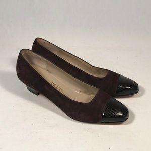 Salvatore Ferragamo Saks Fifth Women Heels 5.5 B